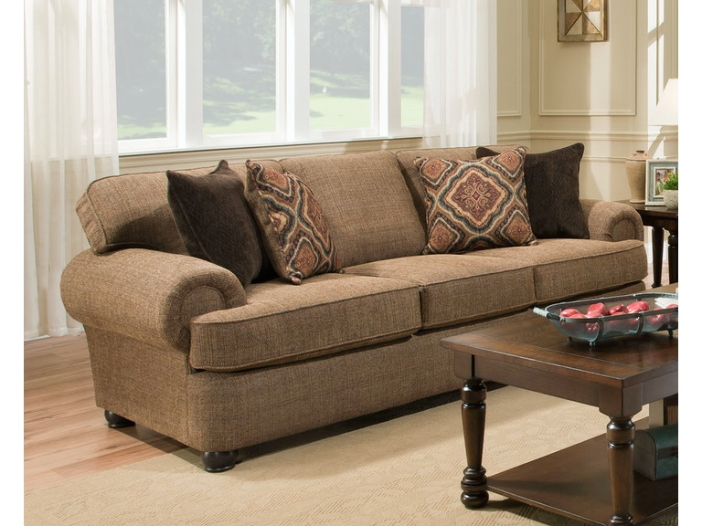 Simmons Upholstery Living Room Shelby Sofa 053359 Furniture Fair Cincinnati Dayton Oh And