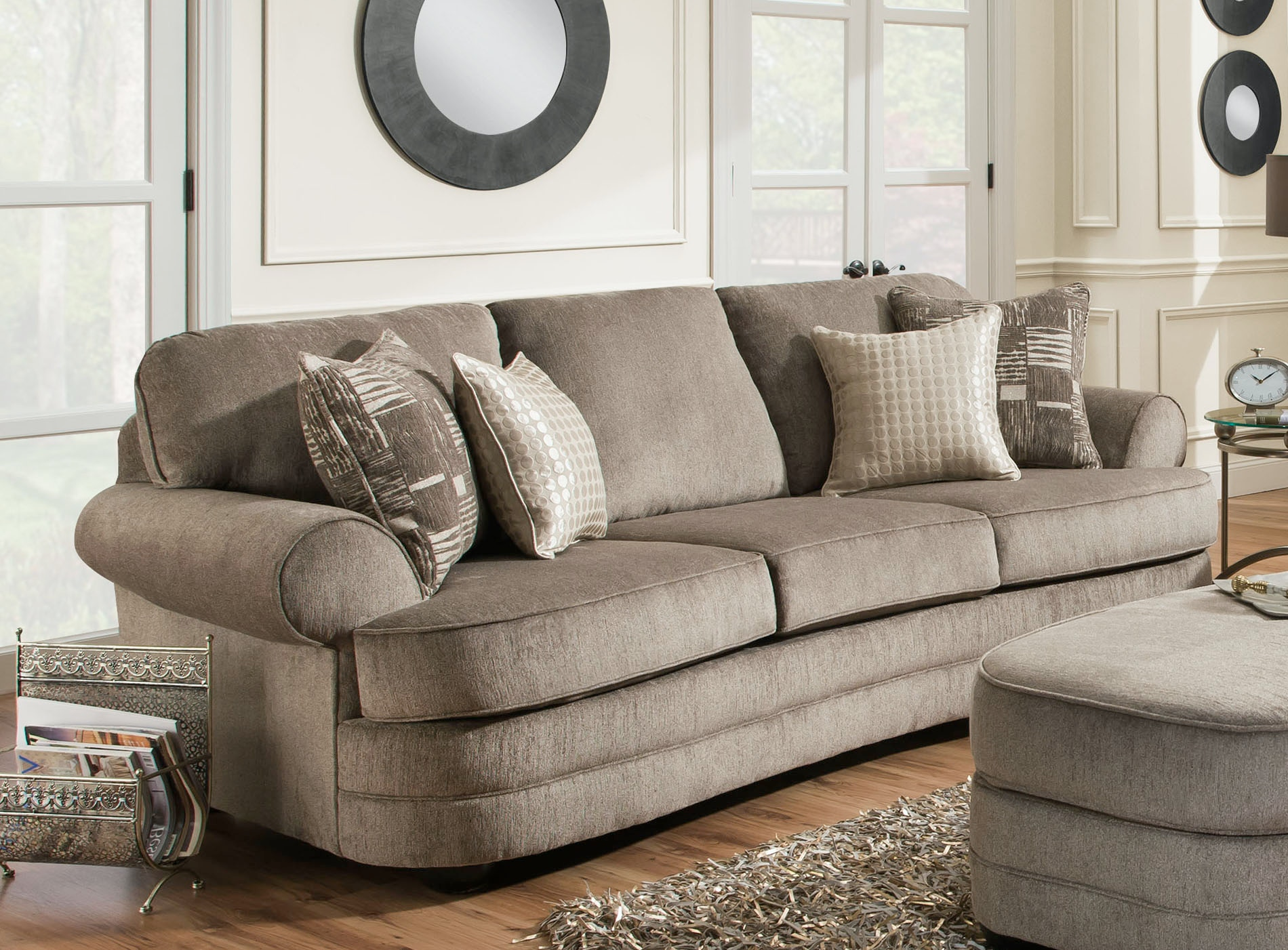 Simmons Upholstery Living Room Kingsley Sofa Furniture