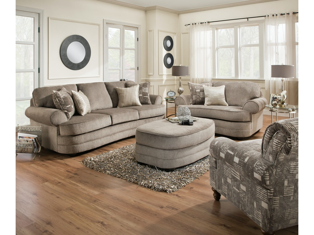 Simmons Bedroom Furniture Simmons Upholstery Living Room Kingsley Sofa 053363 Furniture
