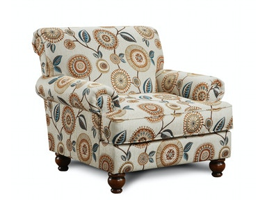 Seymour Linen Chair 053442