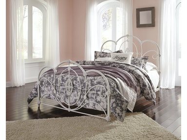 Loriday Metal Bed - Queen 053795
