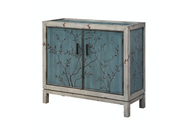 Annabelle Teal Accent Cabinet 053806