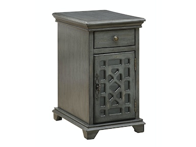 Troy Accent Cabinet - Metallic Grey 053807