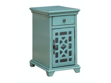 Troy Accent Cabinet - Teal Blue 053808