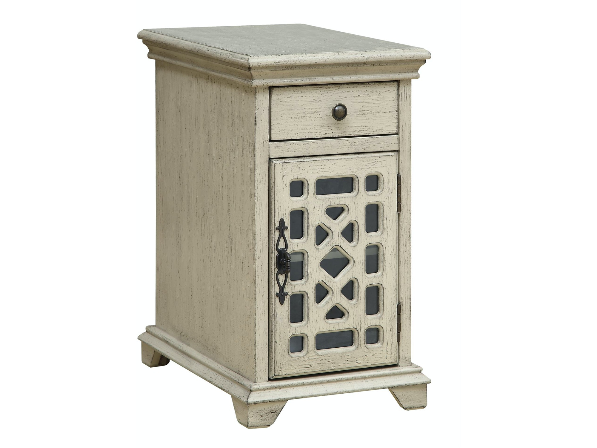 Troy Accent Cabinet - Ivory Cream 053809