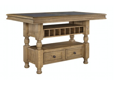 Trishley Counter Table with Storage 053908
