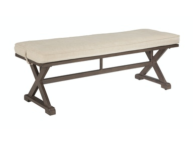 Moresdale Outdoor Bench with Cushion 053912