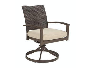 Moresdale Swivel Rocker with Cushion 053913
