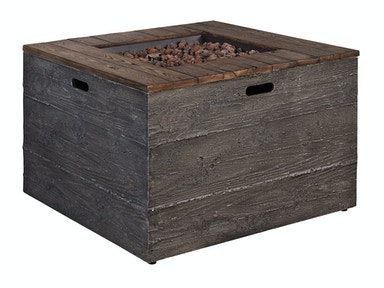 Hatchlands Square Fire Pit Table 053914