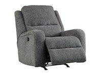 Krismen Power Rocker Recliner - Charcoal 053921