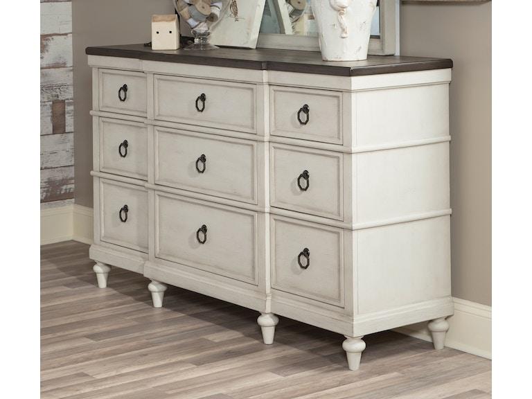 Legacy Classic Furniture Bedroom Brookhaven Dresser 053962 Furniture Fair Cincinnati