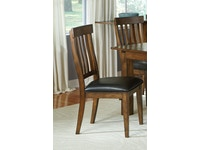 Mariposa Whiskey Slatback Chair 054082
