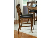 Mariposa Whiskey Slatback Stool 054084