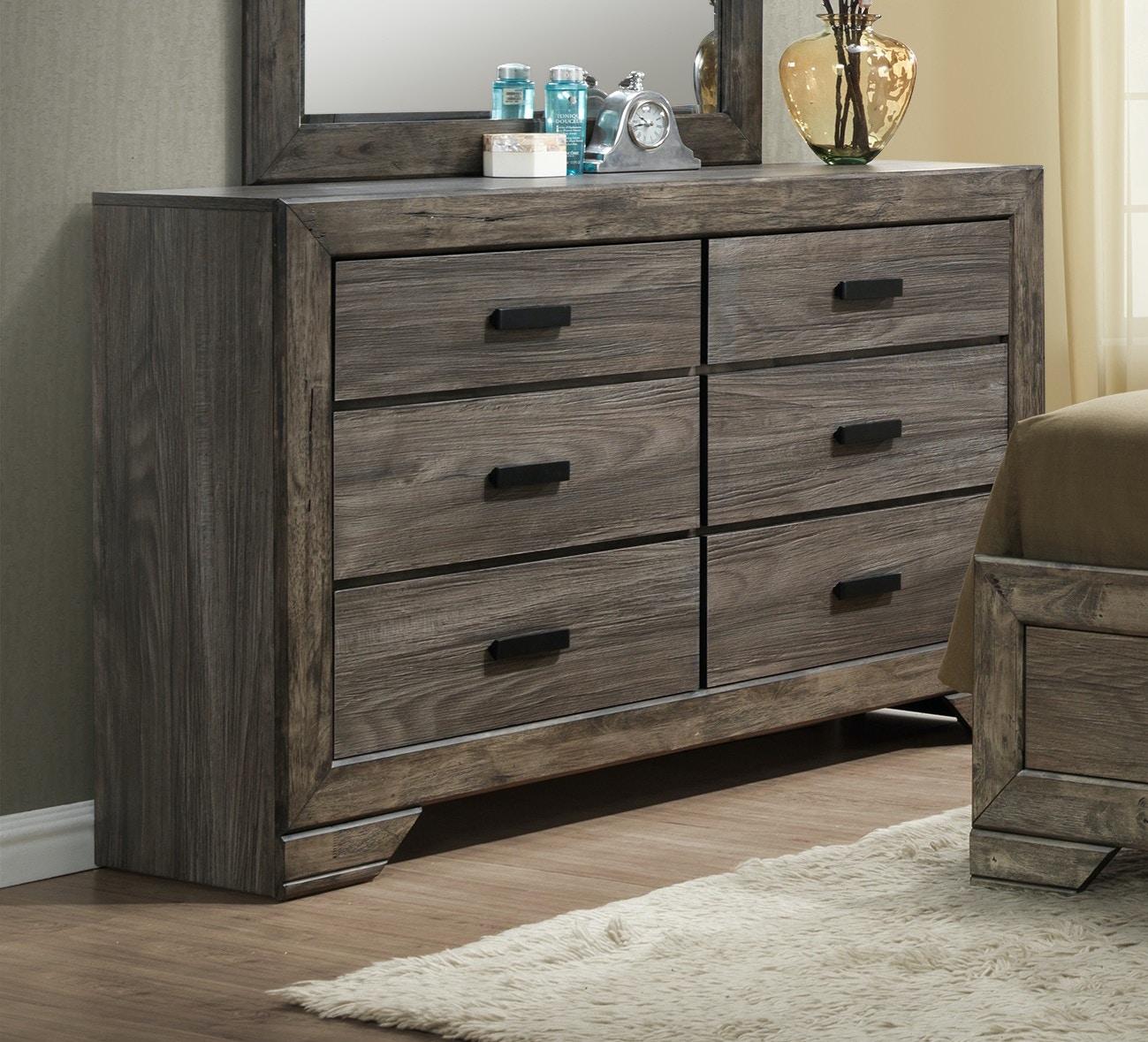 Elements International Bedroom Nathan Dresser 054161 - Furniture Fair - Cincinnati u0026 Dayton OH ...
