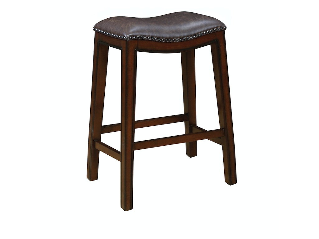 Coaster co of america bar and game room crispin barstool for Coaster furniture of america