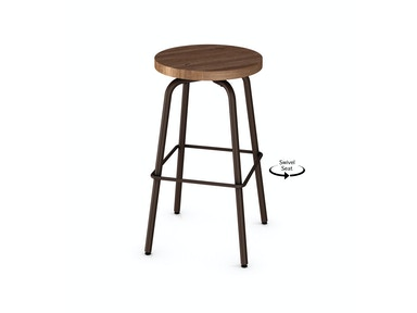 Button Swivel Counter Stool 054253