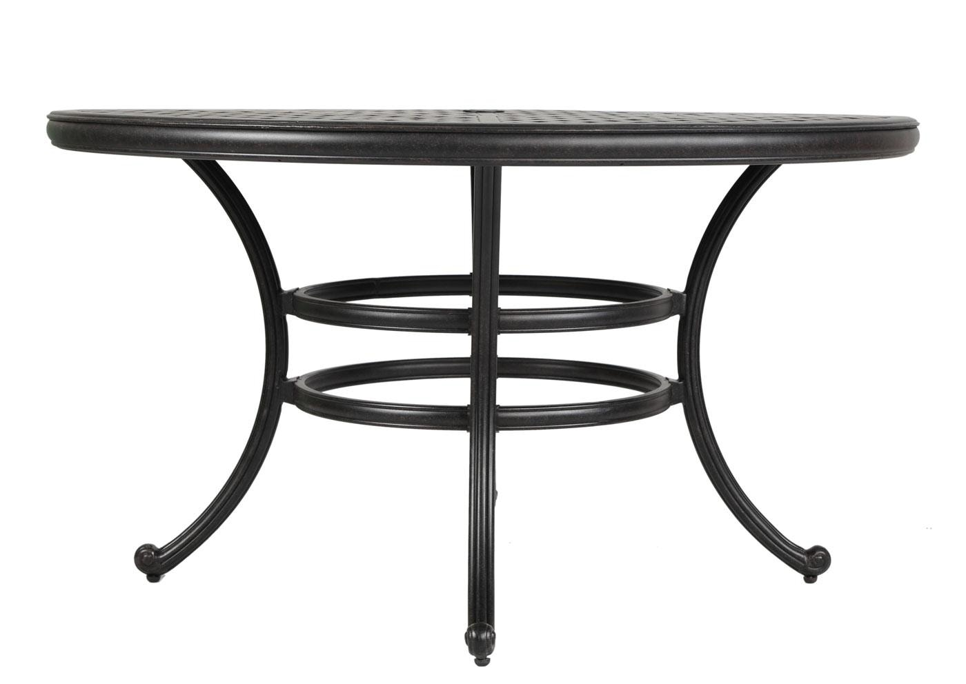 outdoor round dining table. Gathercraft Castlerock Round Dining Table 054401 Outdoor O