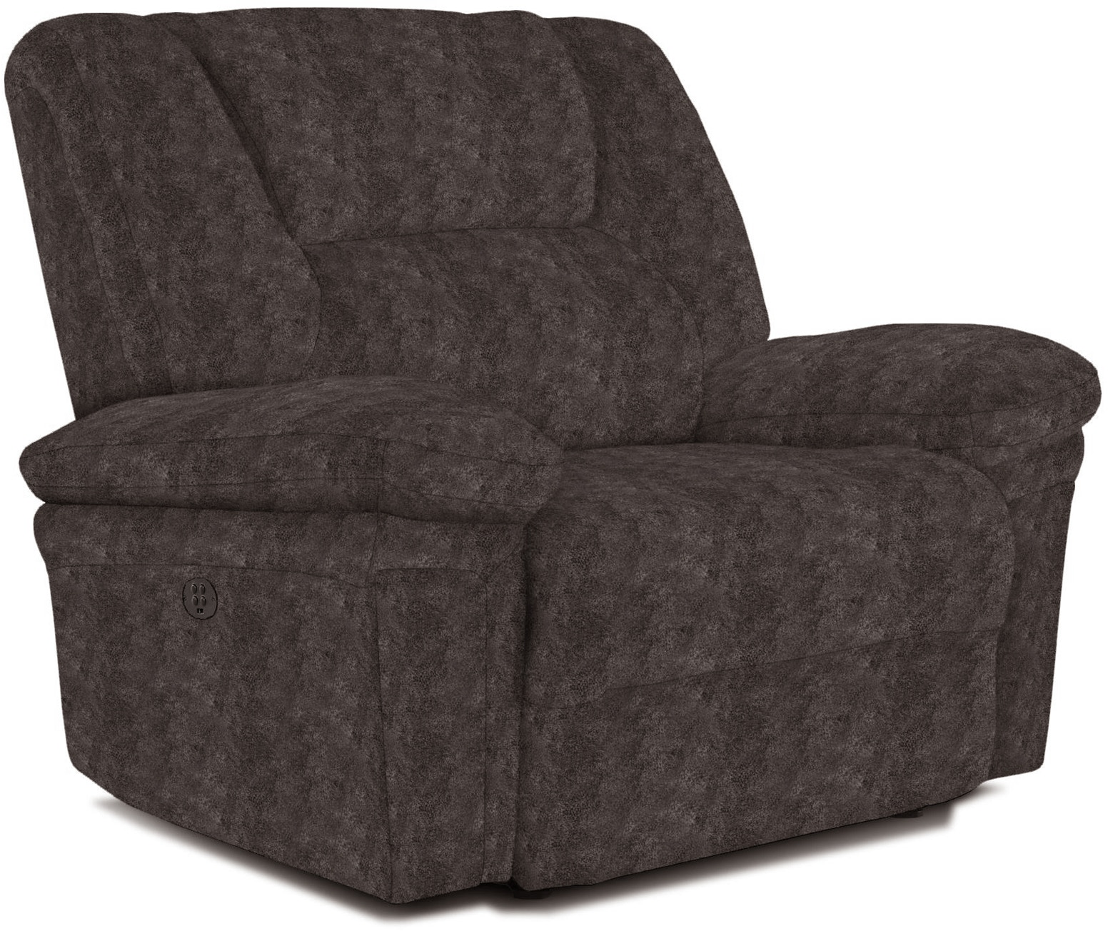 Best Home Furnishings Living Room Parker Chair and Half Power