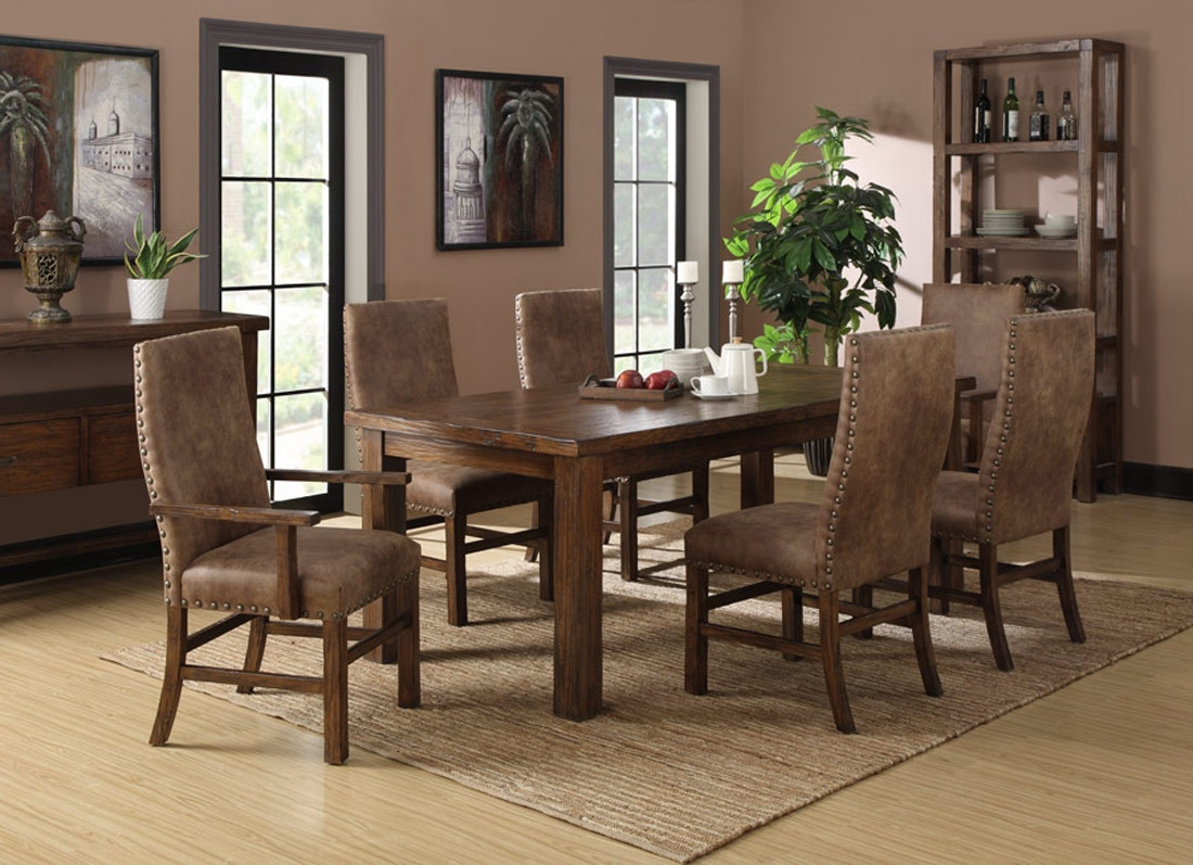 Emerald Home Furnishing Chambers Creek Dining Table With Butterfly Leaf  054521