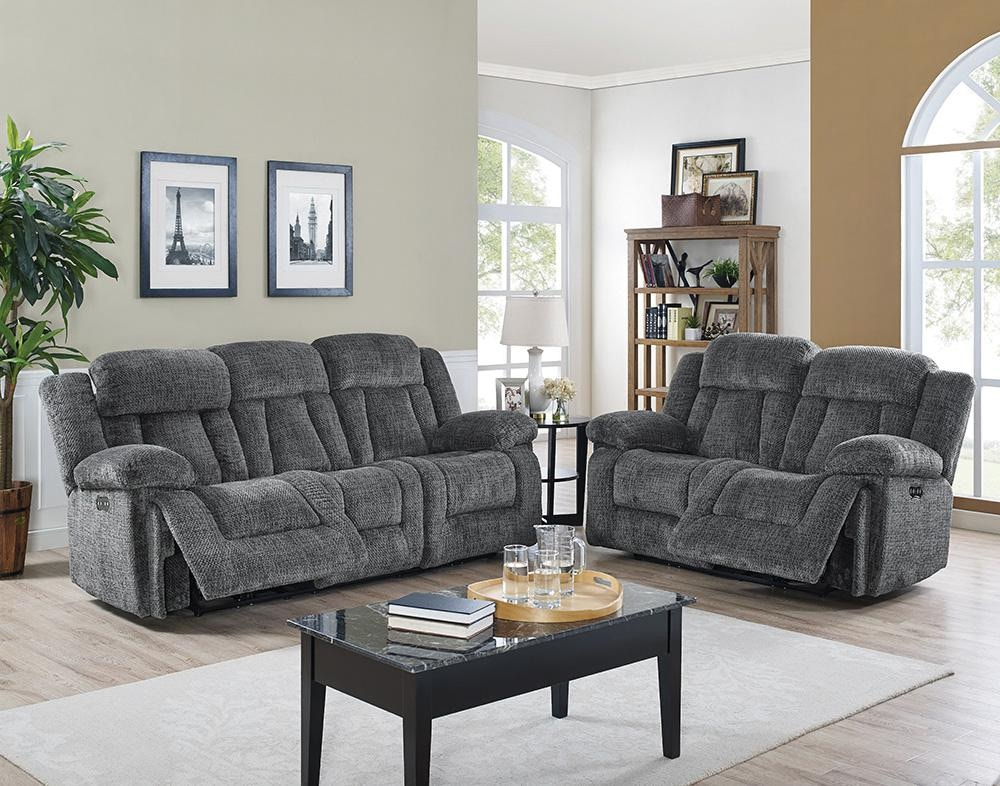 New Classic Home Furnishings Inc. Laura Power Motion Sofa 054637
