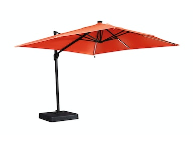 Oakengrove Patio Umbrella - Coral 054839