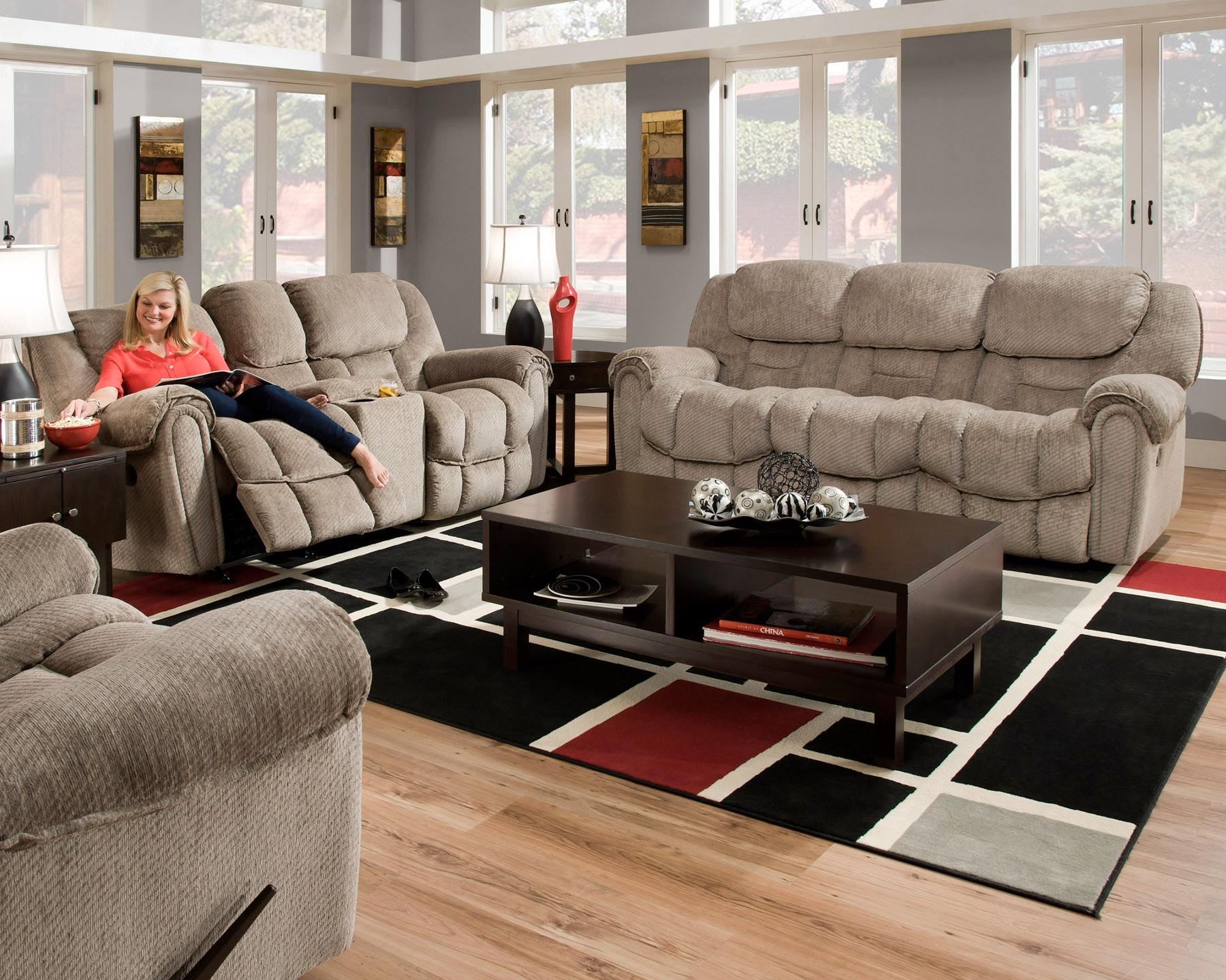 Home Stretch Del Mar Reclining Sofa 055228 Part 53