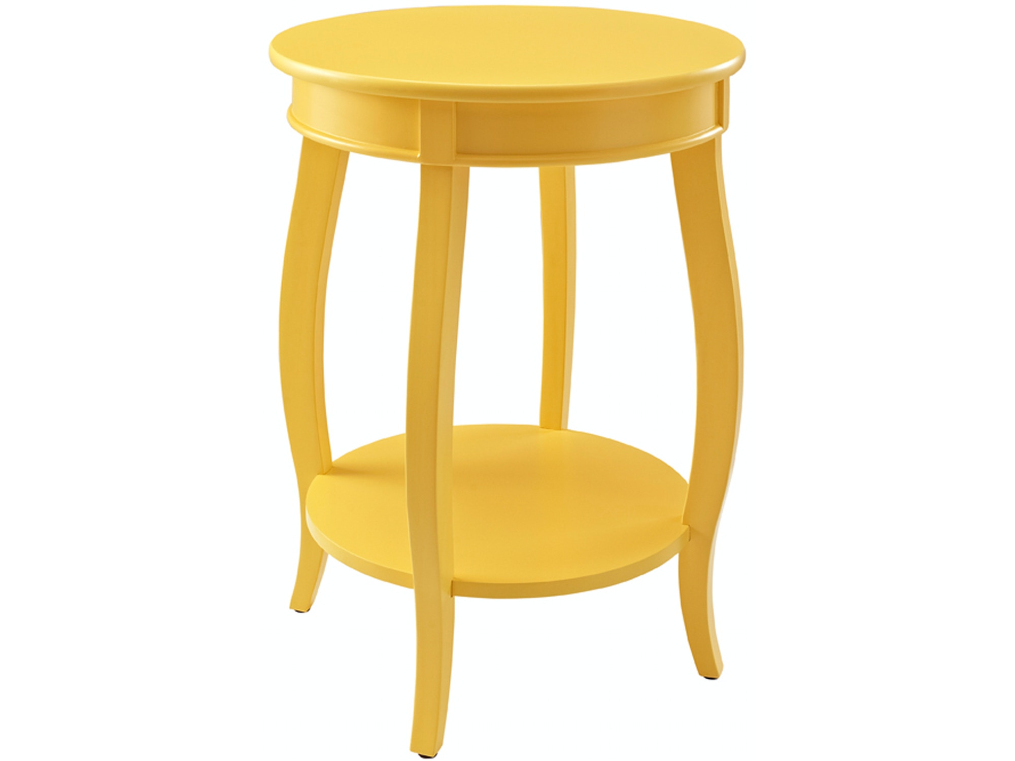 Rainbow Accent Table - Yellow 055818
