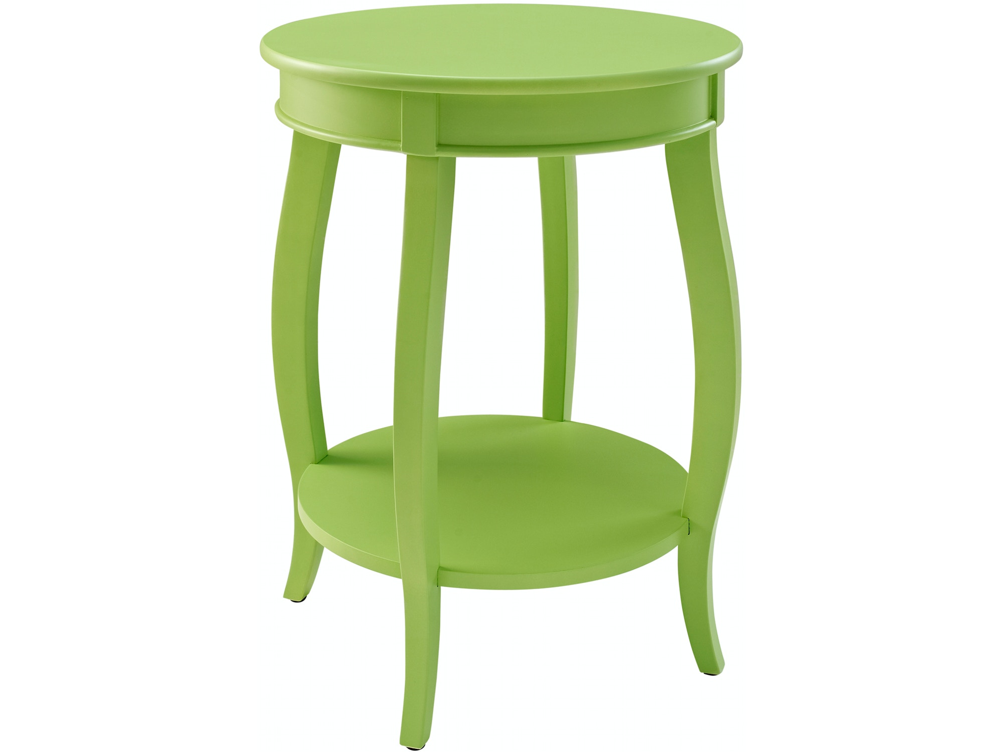 Rainbow Accent Table - Lime 055819