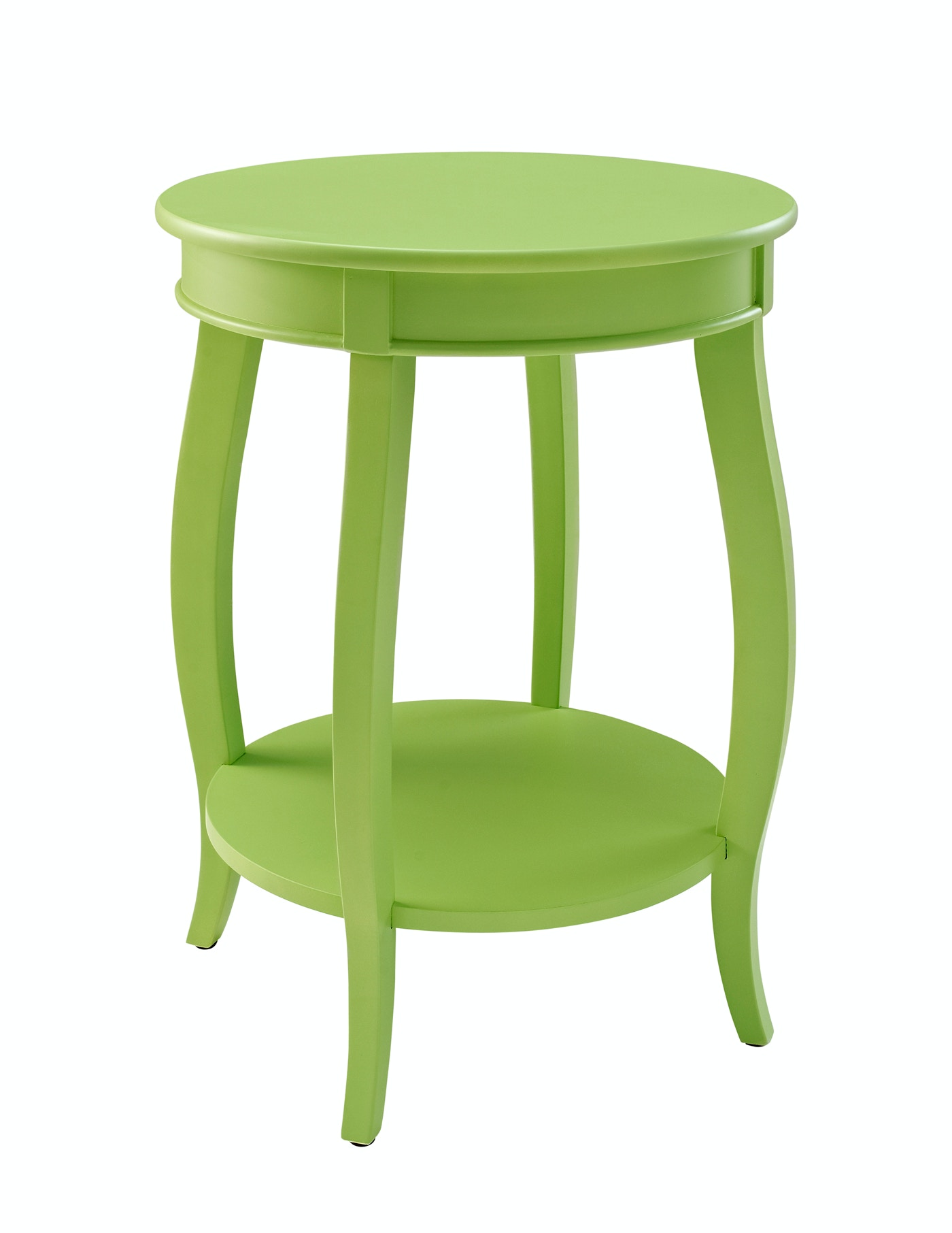 Powell Furniture Rainbow Accent Table   Lime 055819