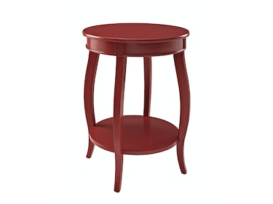 Rainbow Accent Table - Red 055820