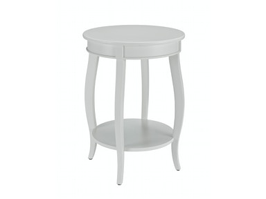 Rainbow Accent Table - White 055822