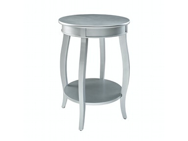 Rainbow Accent Table - Silver 055825