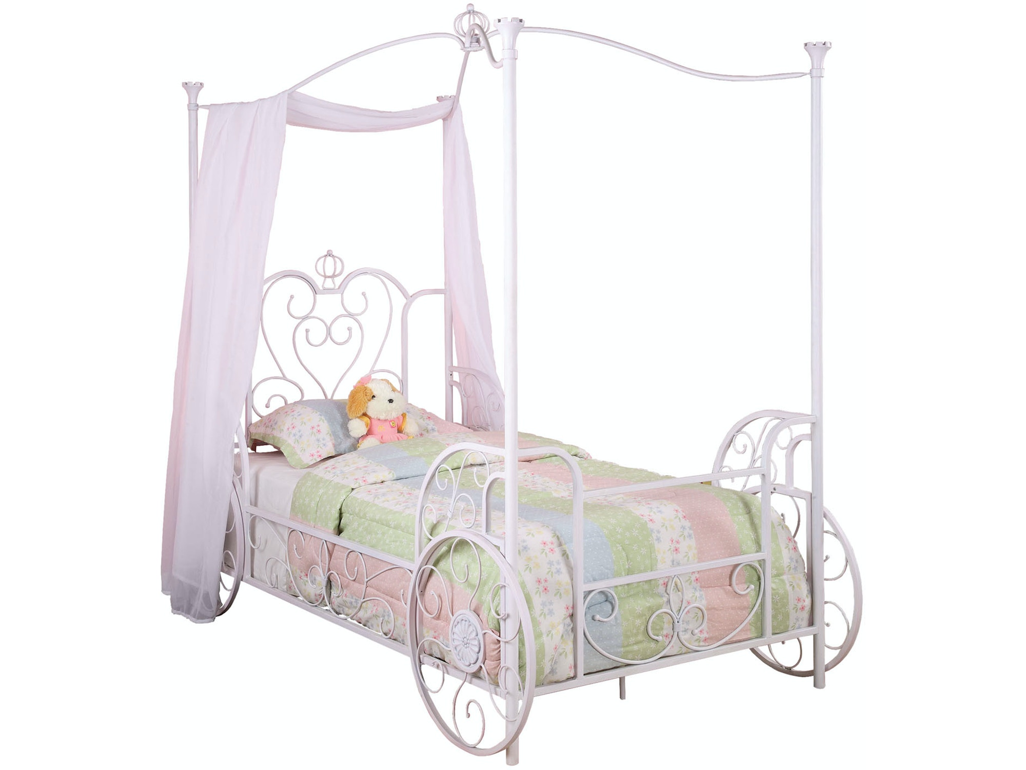 Princess Emily Carriage Bed - Twin 055827