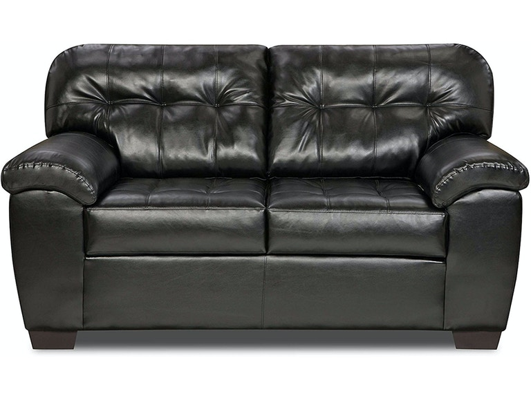 simmons sofa leather loveseat and couch