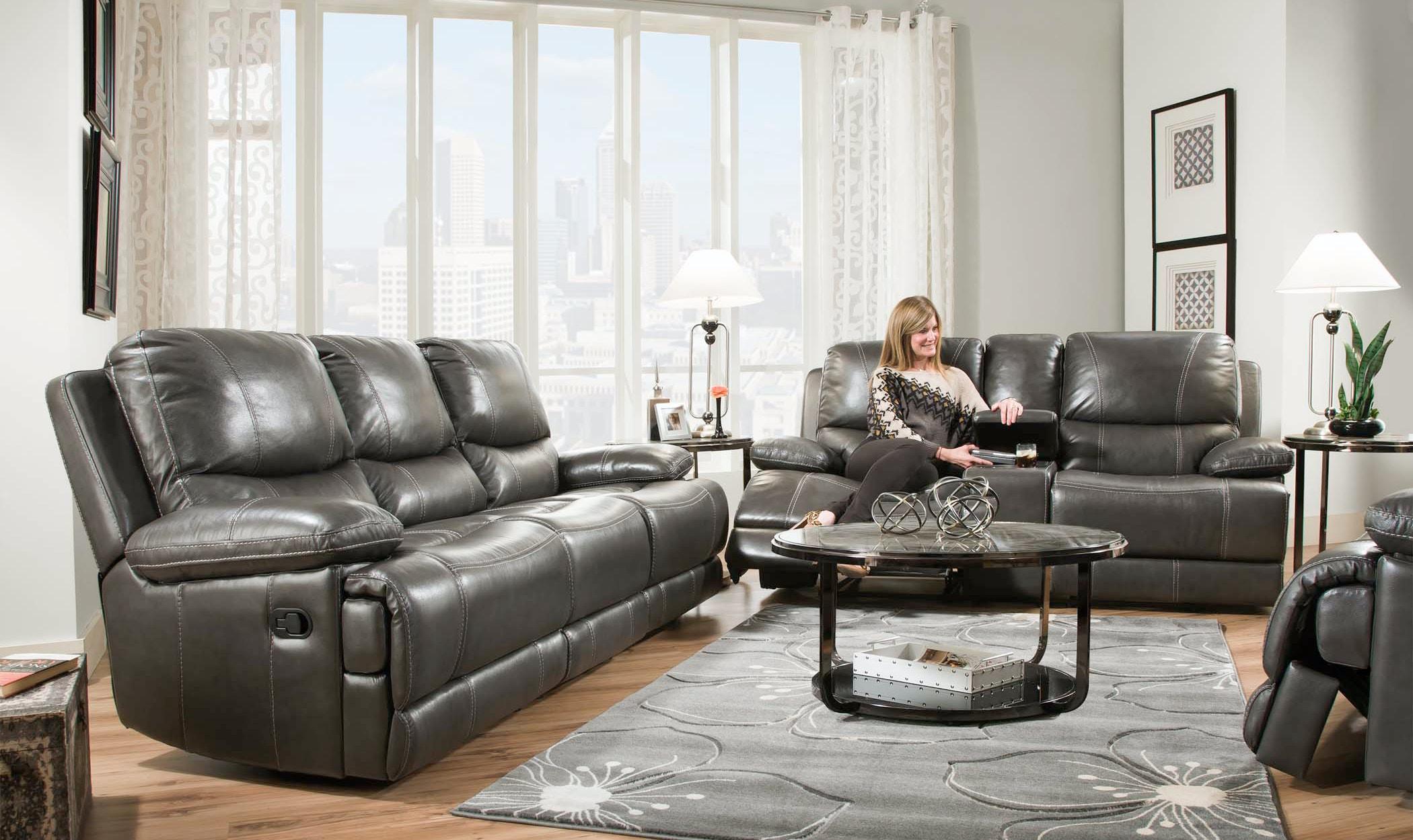 Corinthian Brooklyn Power Reclining Sofa 056158