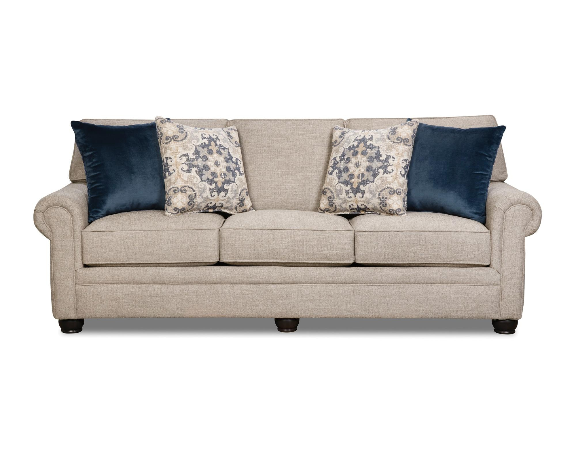 Corinthian Living Room Lilou Sleeper Sofa 056627 Furniture Fair