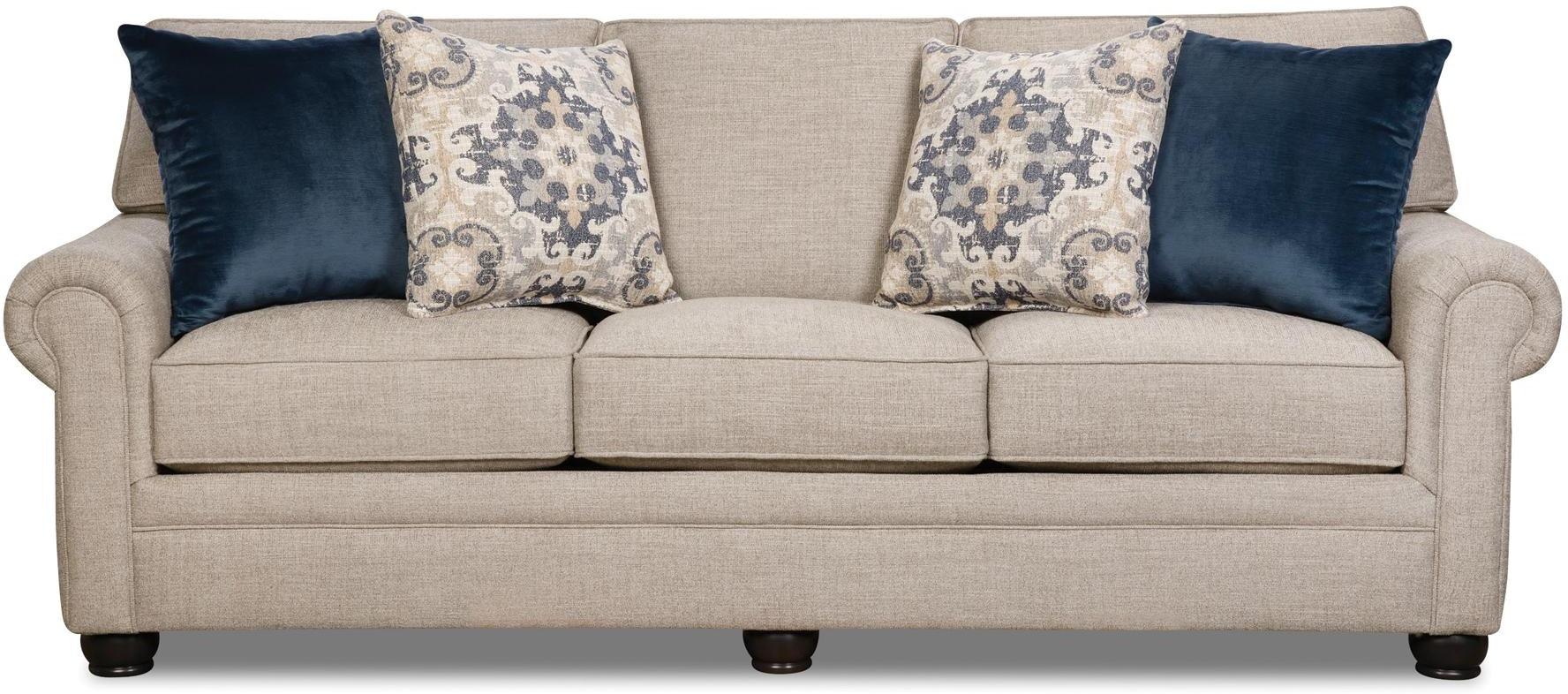 Corinthian Living Room Lilou Sleeper Sofa 056627 Furniture Fair Cincinnati Dayton Oh And