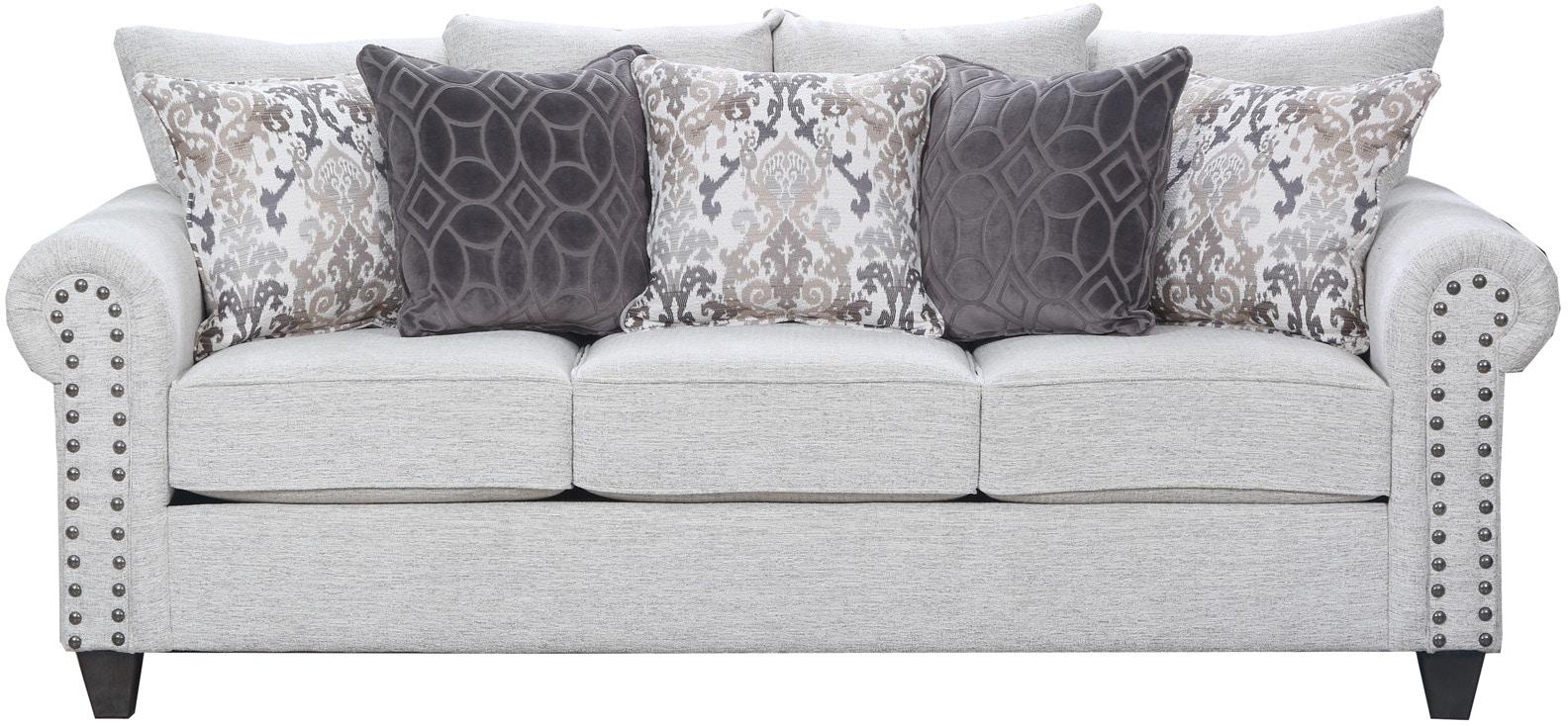 Simmons Upholstery Living Room Della Sofa 056699 - Furniture Fair ...