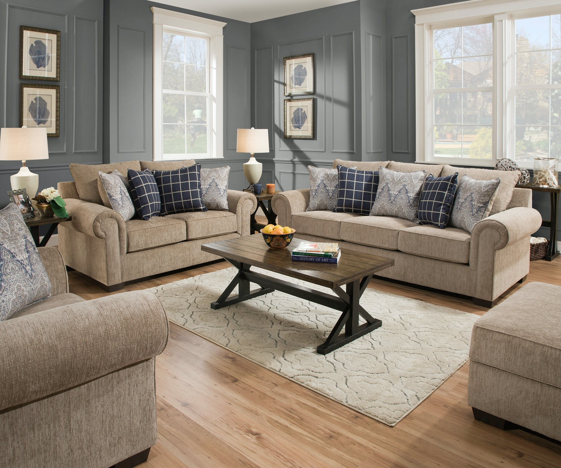 Simmons upholstery sofa astoria grand simmons upholstery for Simmons living room furniture