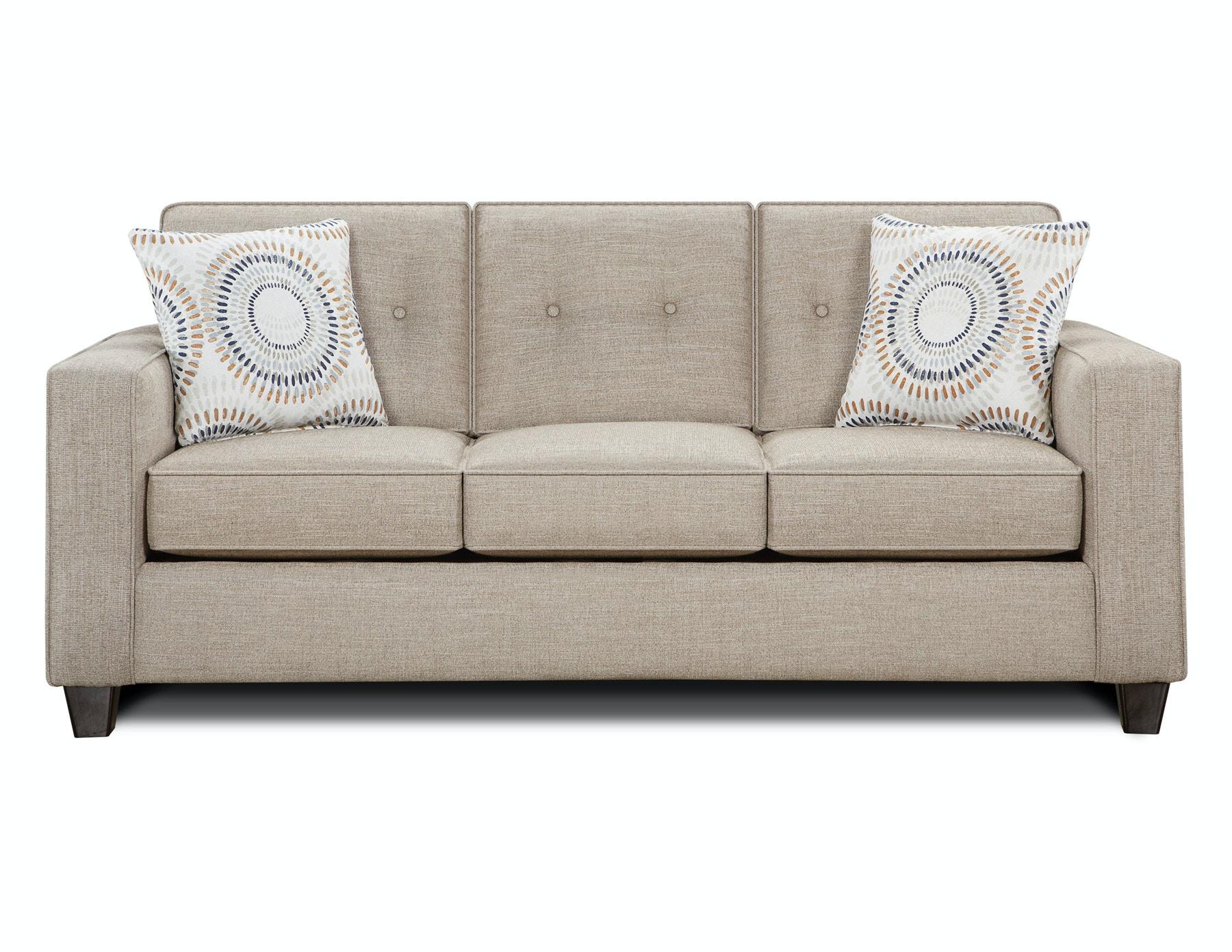 Fusion Lilou Button Back Sofa 056857