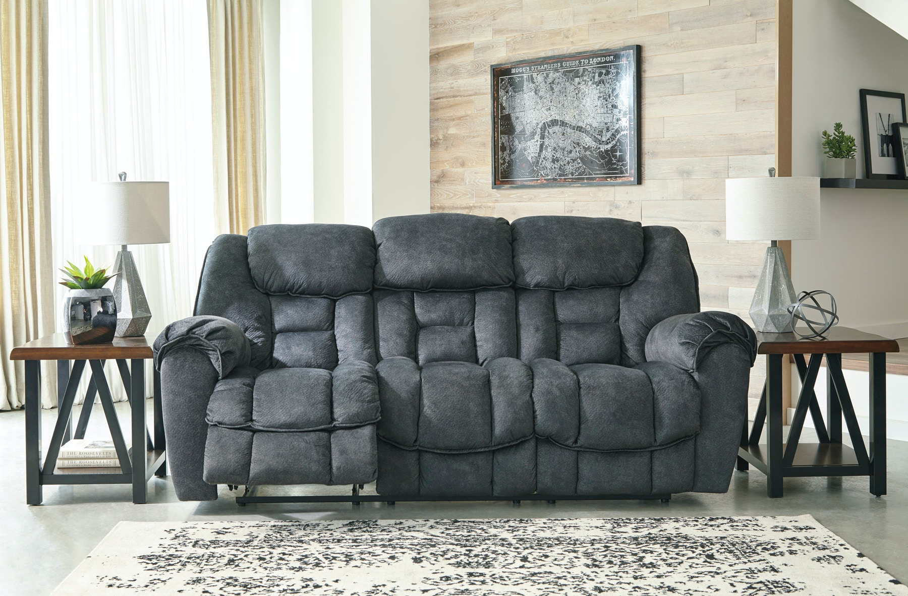 Signature Design by Ashley Living Room Capehorn Reclining Sofa
