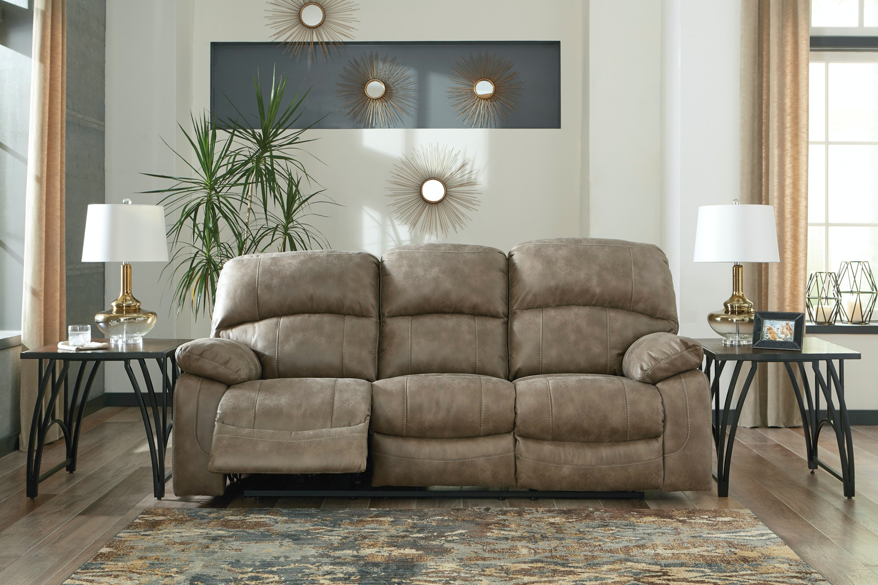 ashley power recliner sofa. Signature Design By Ashley Dunwell Power Reclining Sofa 057080 Recliner