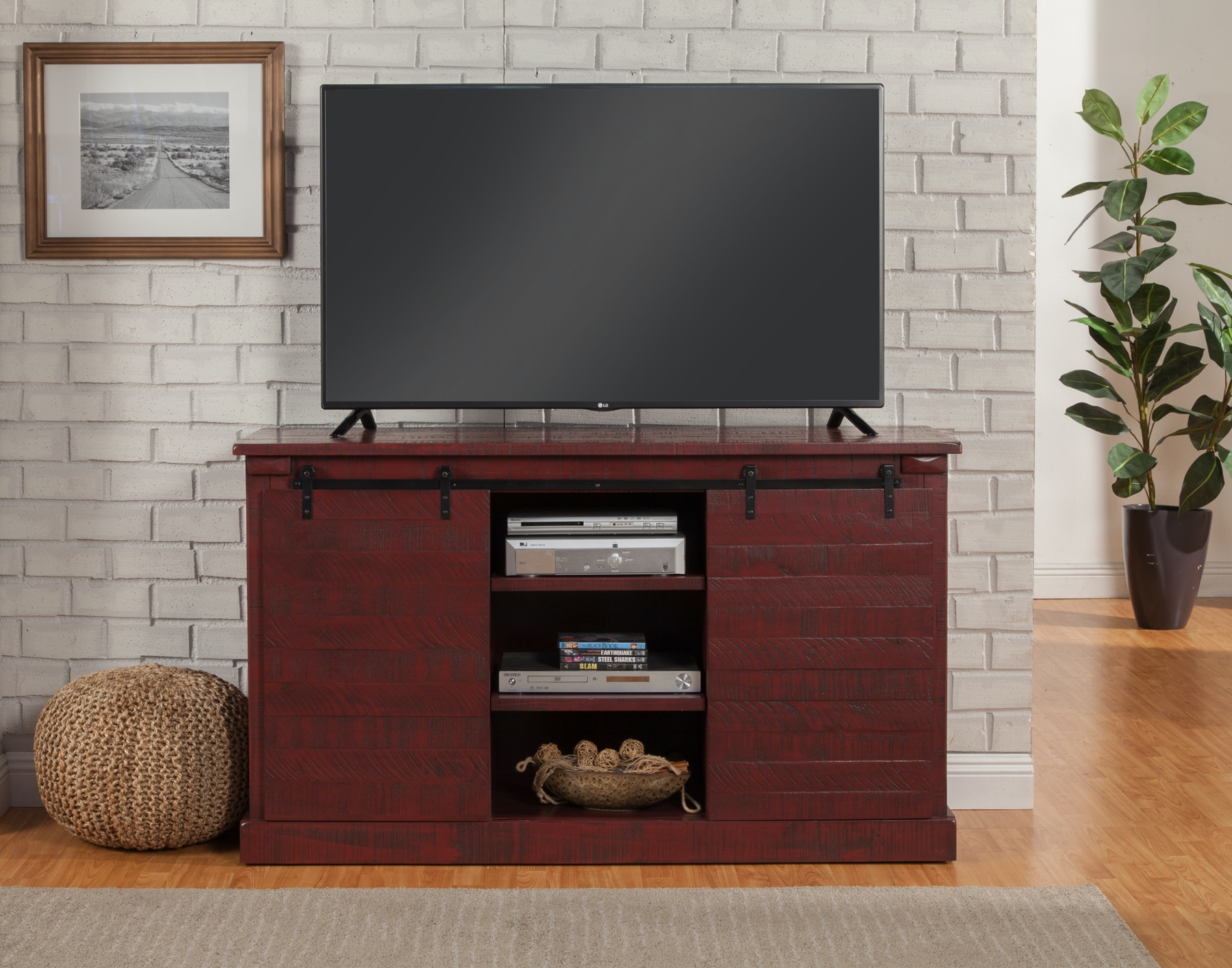 barn door cover l thrilling console stand tv barns sliding media