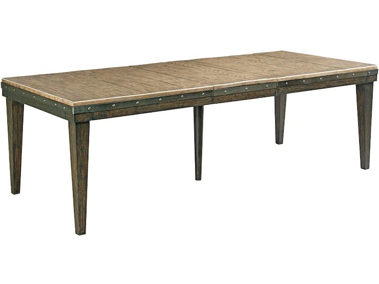 Kincaid Furniture Dining Room Rankin Dining Table 057186 ...