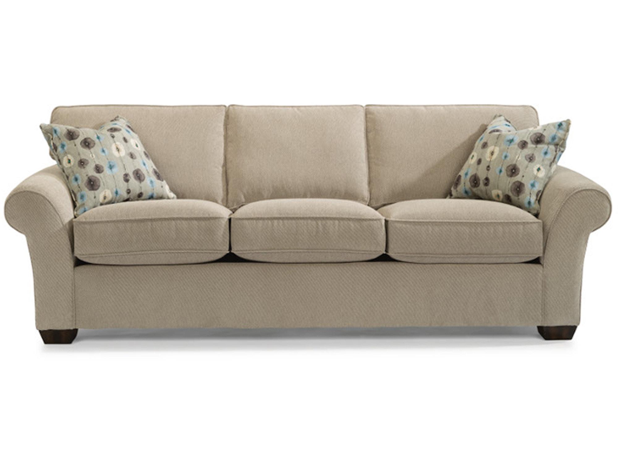 Flex steel sofas holly sofa flexsteel frontroom for Frontroom furniture