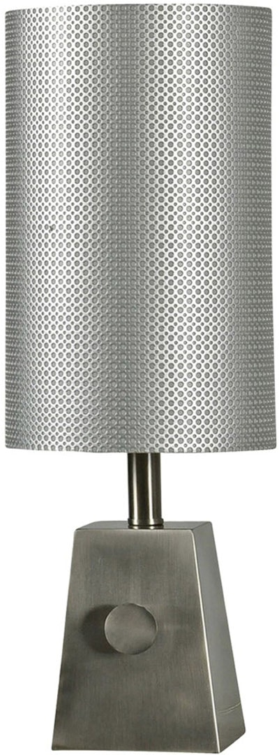 Stylecraft lamps lamps and lighting brush steel mini table lamp brush steel mini table lamp with tall steel shade and dial switch brush steel mini table lamp 059292 stylecraft lamps aloadofball Image collections