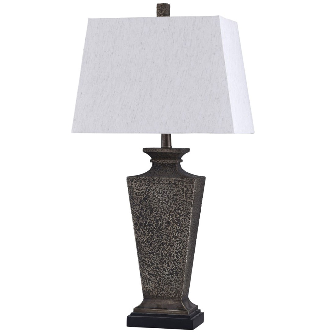 Stylecraft Lamps Brown Base Table Lamp 059308
