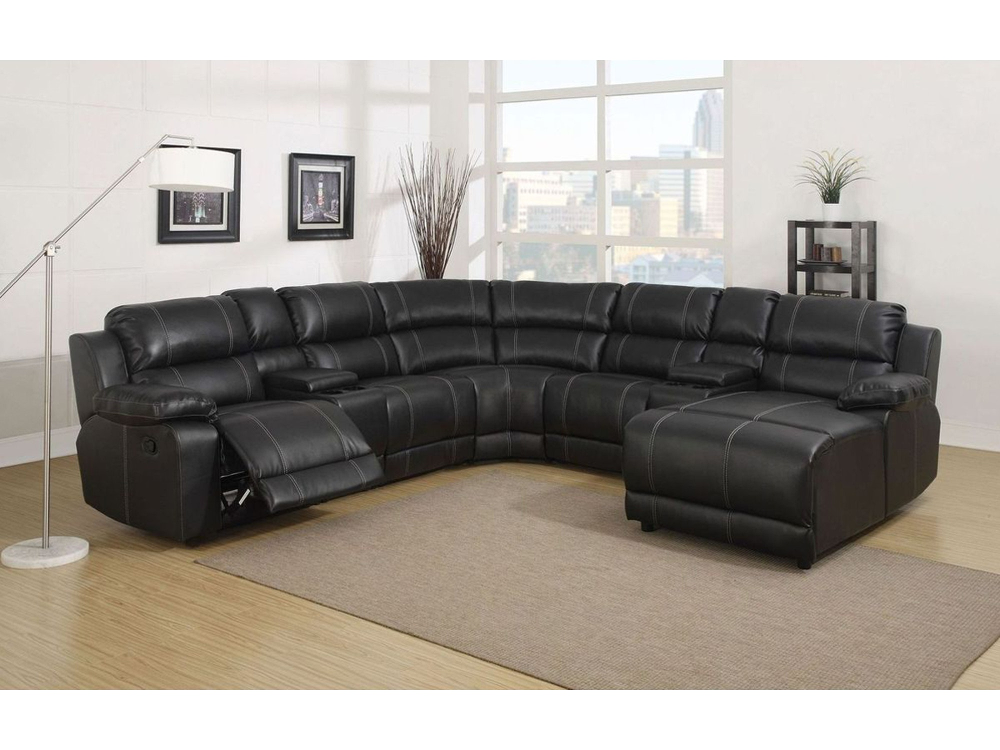 Florence Reclining Sectional 059744