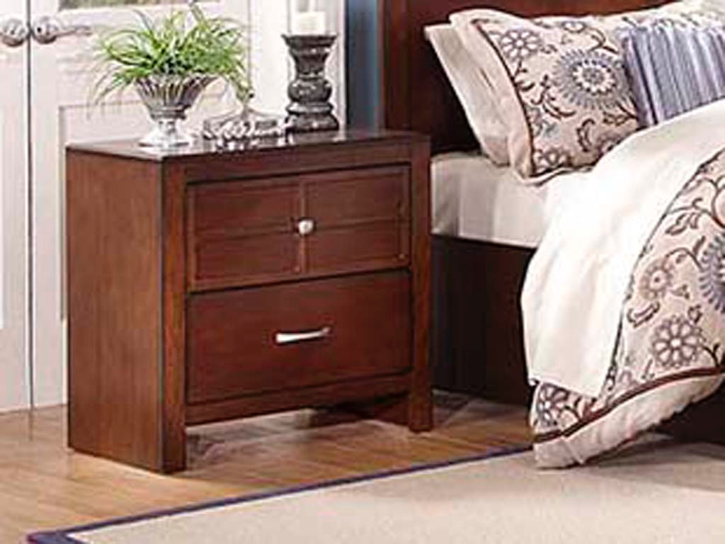 New Classic Home Furnishings Inc Bedroom Kensington Nightstand 041781 Furniture Fair
