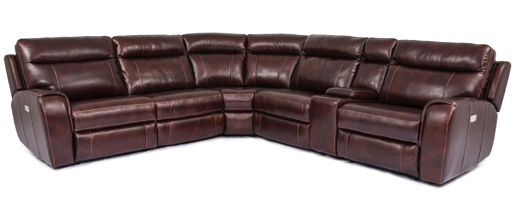 070117. Bradley Power Reclining Sectional